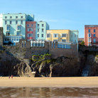 Picture - Tenby in Wales.