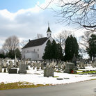 Picture - Chapel and cemetery in Tennent.
