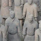 Picture - Close up of Terracotta Warriors.