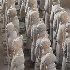 Picture - Side view of the Terracotta Warriors.