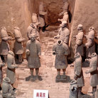 Picture - Headless Terracotta Warriors.