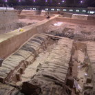 Picture - Excavation of the Terracotta Army.