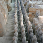 Picture - Terracotta warriors site.