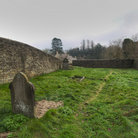 Picture - The Cotswold Graveyard in Tetbury.