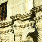 Picture - Architectural details at The Alamo, San Antonio, Texas.