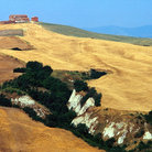 Picture - Landscape of Crete, Siena.