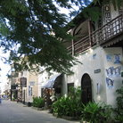 Picture - Street of Mombasa's Old Town.