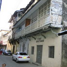 Picture - Buildings of Mombasa's Old Town.