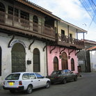 Picture - Buildings of the Old town in Mombasa.