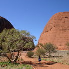 Picture - The Olgas near Ayers Rock.