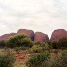 Picture - The Olgas in the Outback of Australia.