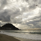 Picture - Zurriola Beach at San Sebastian.