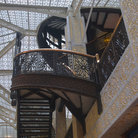 Picture - Staircase of the Rookery, Chicago.