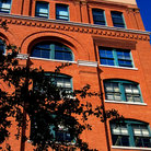 Picture - The Old Texas Book Depository sixth floor corner window from where Oswald assassinated JFK.