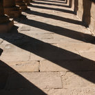 Picture - Shadows at Temple of Isis on the Philae Island near Aswan.