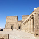 Picture - The huge Temple of Isis at Philae.