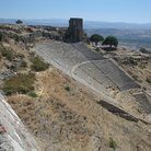 Picture - The Greek Theater in Pergamon.