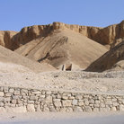 Picture - The Valley of the Kings, near Luxor.