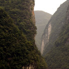 Picture - Yantze River gorge.