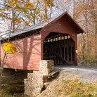 Picture - Covered Bridge in Thurmont, Maryland.