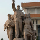 Picture - Monument at Tiananment Square in Beijing.