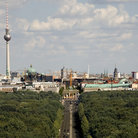 Picture - View over central Berling and Tiergarten.