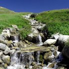 Picture - A stream near Tignes.