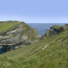 Picture - View to Tintagel Castle.