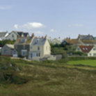 Picture - View over Tintagel Village.