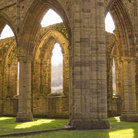 Picture - Arches of the Tintern Abbey.