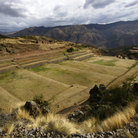 Picture - Inca terraces at Tipon.