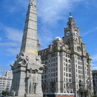 Picture - The Titanic Monument in Liverpool.