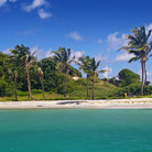 Picture - One of the beautiful beaches of the Tobago Cays.