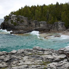 Picture - Shoreline near Tobermory.