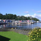 Picture - The waterfront of Tobermory.