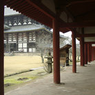 Picture - Side view of the Todai-ji Temple, Nara.