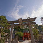 Picture - Gates of the Toji Temple, Kyoto.