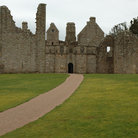 Picture - The ruins of Tolquhon Castle.