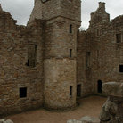 Picture - A tower at Tolquhon Castle.