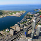 Picture - Aerial view of Toronto Islands and airport, Toronto.