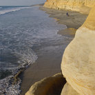 Picture - Beach at Torrey Pines, San Diego.
