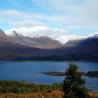 Picture - Wester Ross on the south shore of Loch Torridon.