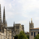 Picture - Saint-Andre Cathedral and Tour Pey Berland in Bordeaux.