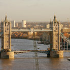 Picture - The Tower Bridge and the River Thames in London.