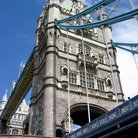 Picture - Detail of the Tower Bridge in London.