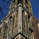 Picture - Tower of the Cathedral of St Martin in Utrecht.