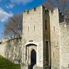 Picture - Walls and moat of the Tower of London.