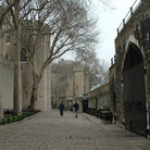 Picture - Cobblestone walkway at the Tower of London.