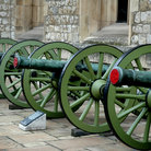Picture - A cannon at the Tower of London.