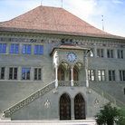 Picture - The Rathaus, the Town Hall building in Bern.